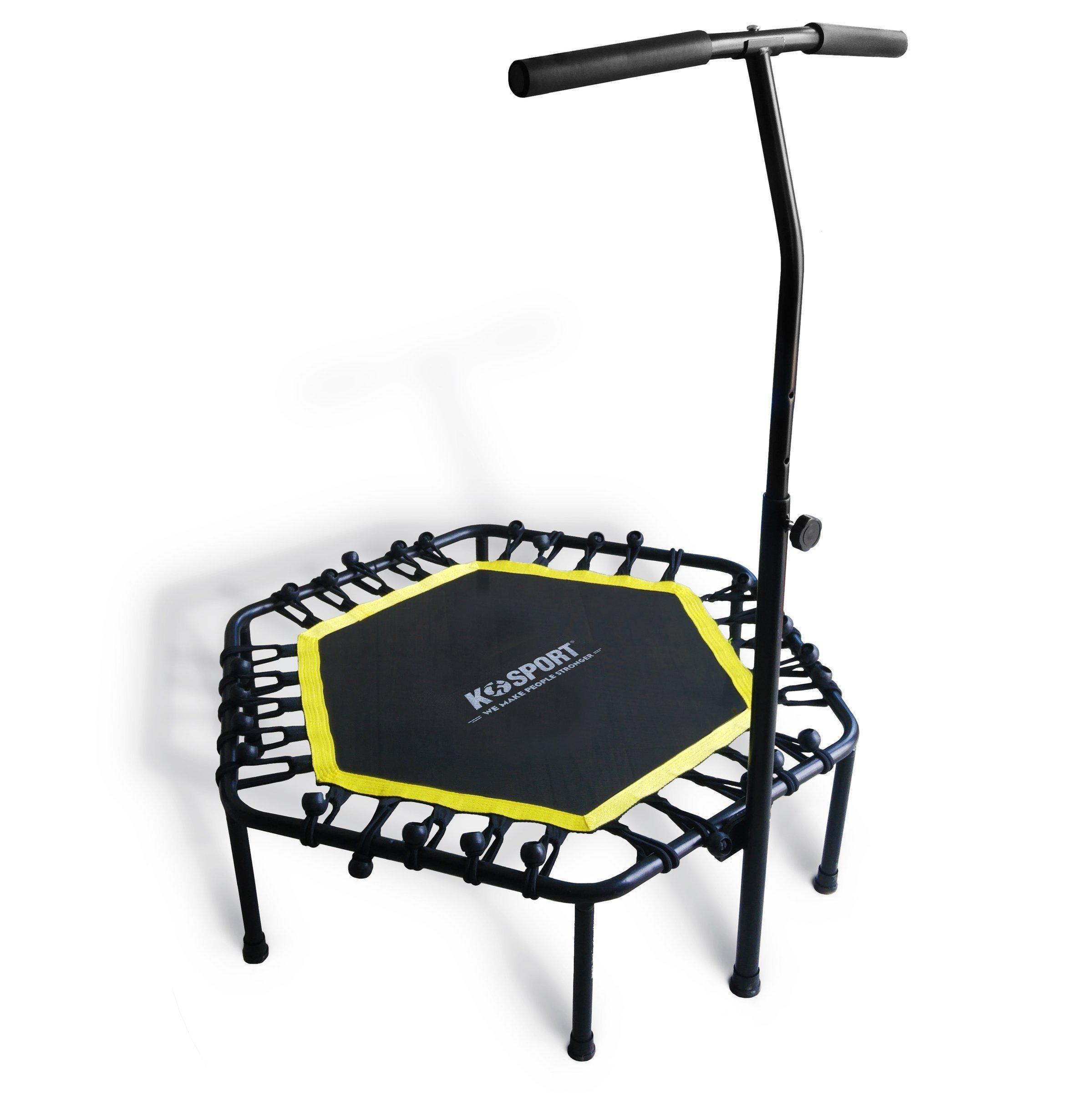 Mini Trampoline Exercise Bungee Rebounder