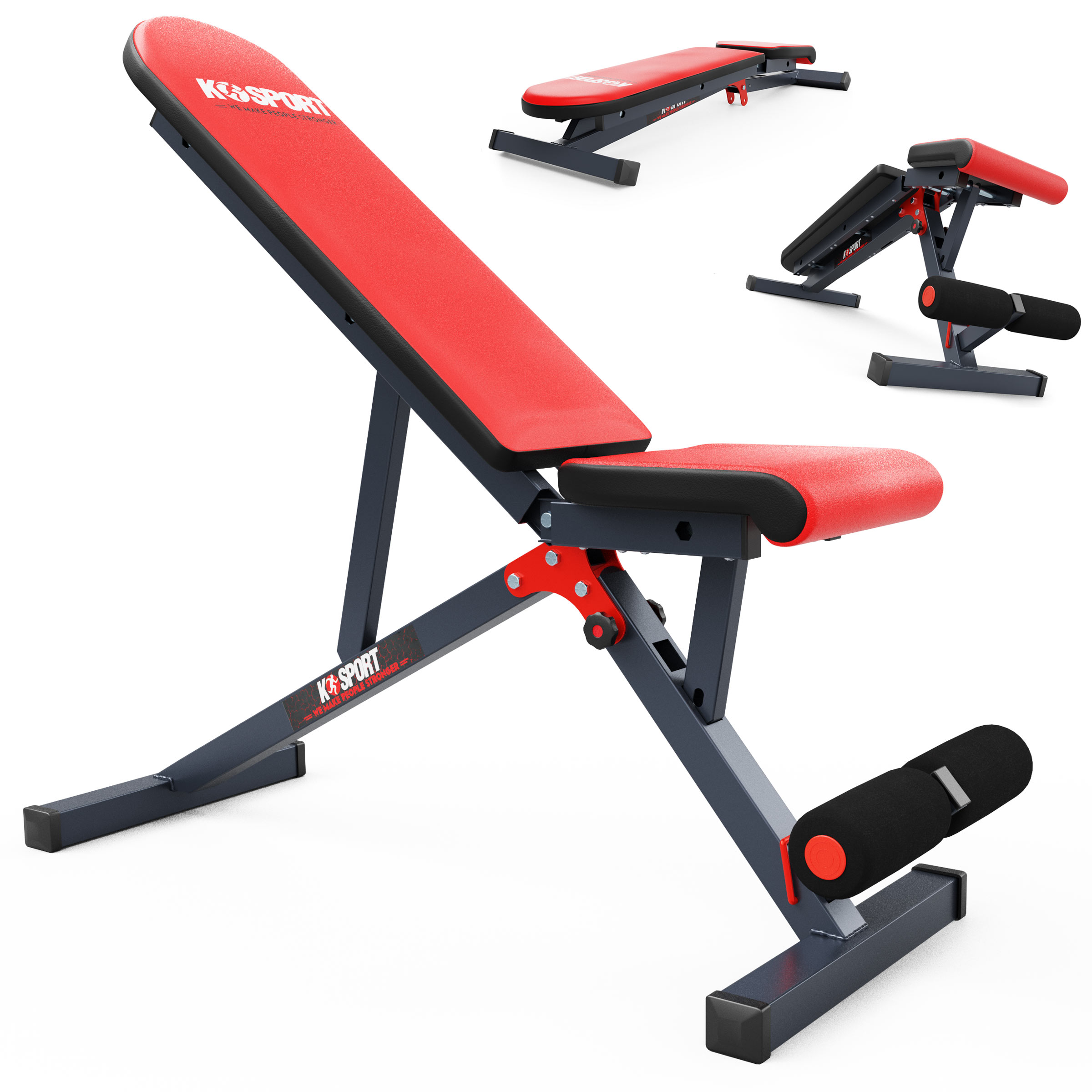 bench with leg curl